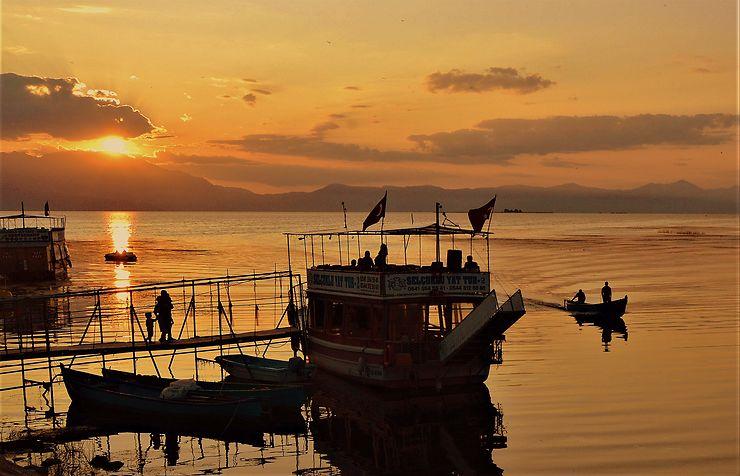 Lac de Beysehir, Turquie