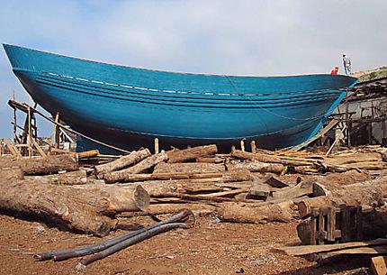 Construction navale à Agadir