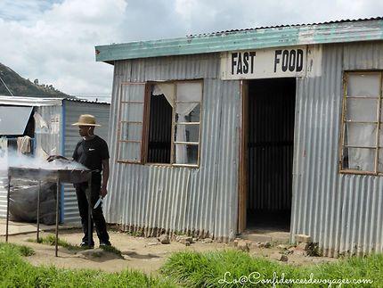 Restauration rapide au Lesotho