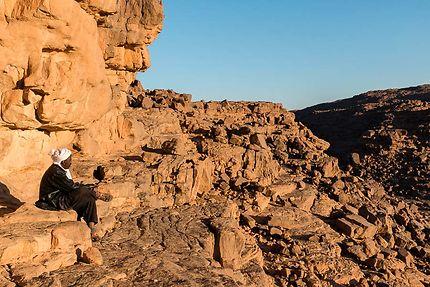 Tinarassou - En admiration devant ce paysage