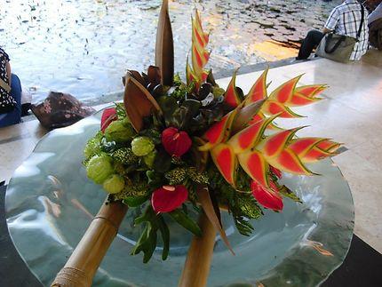 Bouquet de fleurs Indonésie