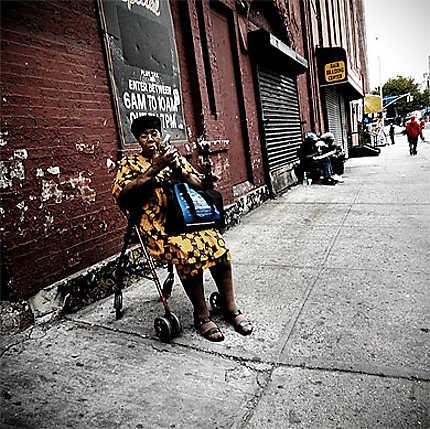 Femme à Harlem