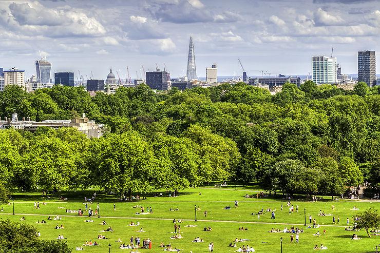 Londres en vert majesté : les parcs royaux