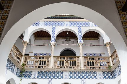 Alger - Palais des Raïs - Les arcades