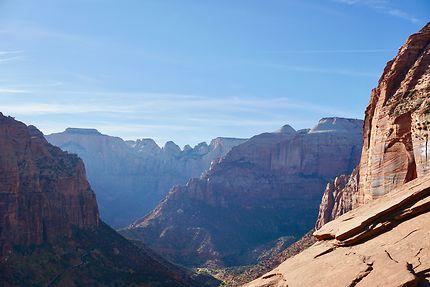 Vue du Canyon Overlook Trail à Zion