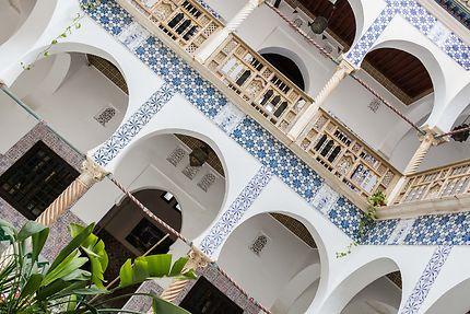 Alger - Palais des Raïs - Le patio