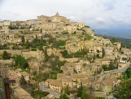 Le village de Gordes dans le Vaucluse