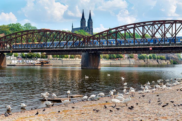 Balade pragoise le long de la Vltava