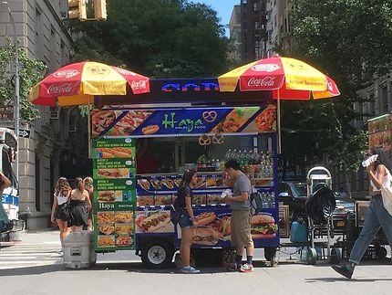 Hot-dog à New-York