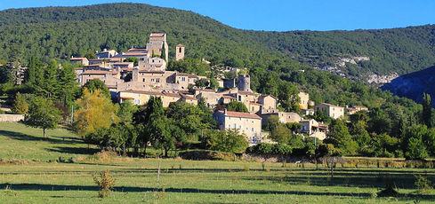 La Drôme, en automne - CETEDP / www.dromeprovencale.fr