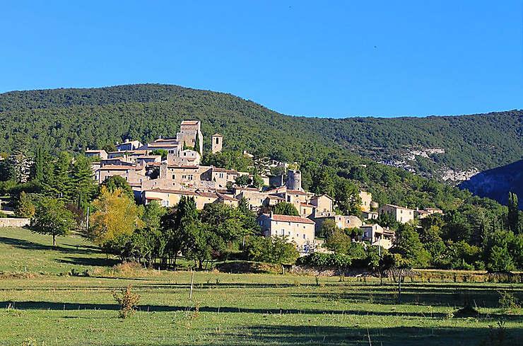 La Drôme, en automne
