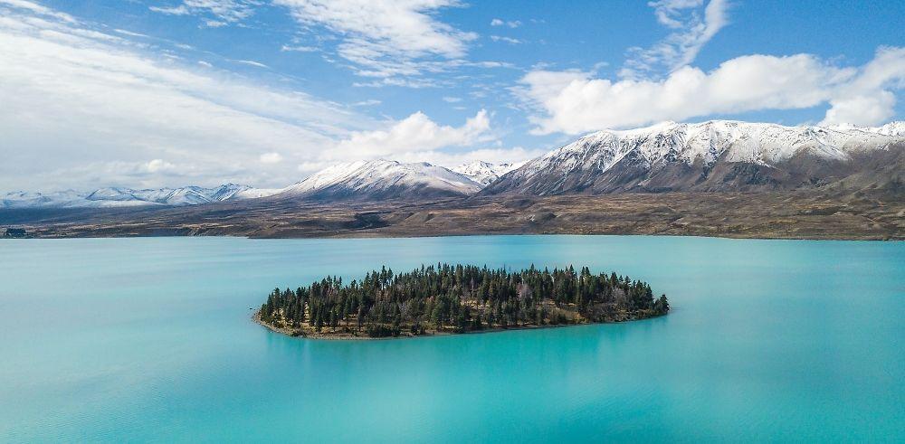 Les différents paysages de Nouvelle Zélande