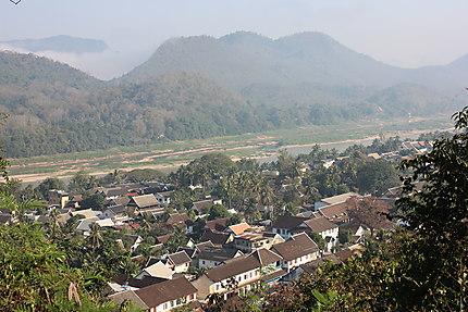 Mont Phousi - Vue sur Luang Prabang