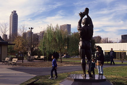 Martin Luther King mémorial à Atlanta