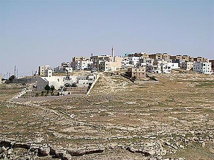 Cité de Kérak sur la route du Roi en Jordanie