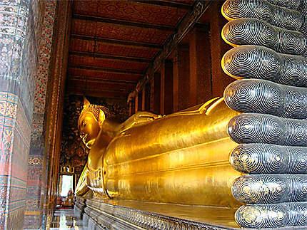 Bouddha couché du Wat pho