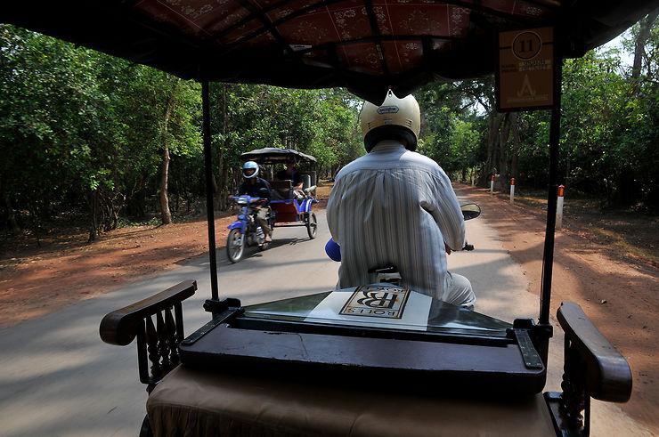 À travers la campagne cambodgienne