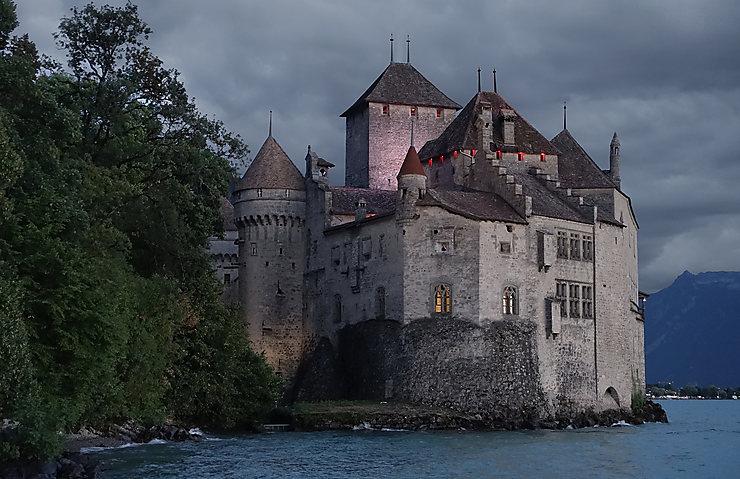 Château de Chillon, Suisse