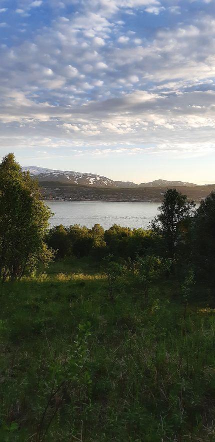 Soleil de minuit à Tromso