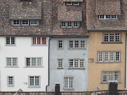 Maisons anciennes à Schaffhouse