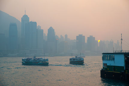 Star Ferry au petit matin