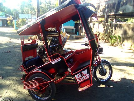 Tricycle sur Mindanao