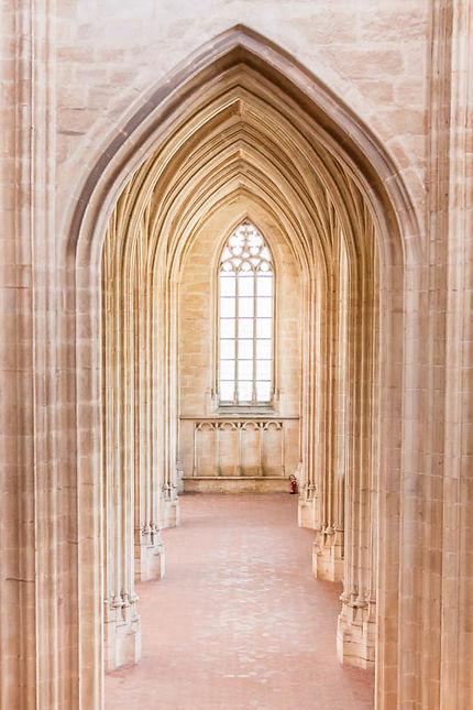 Monastère de Brou, collatéral de l'église