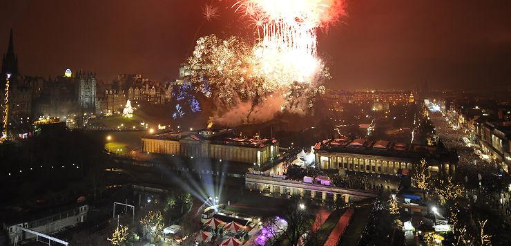 Réveillons du Nouvel An : Édimbourg