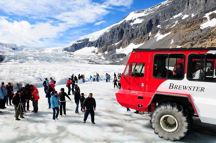 Sur la route des glaciers