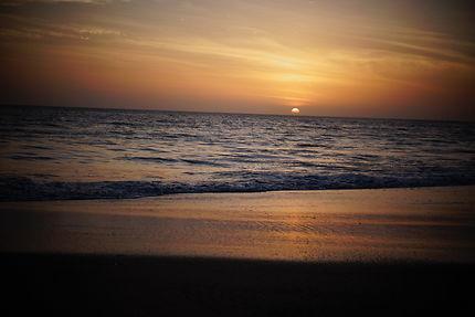 Coucher de soleil plage des mamelles, Dakar