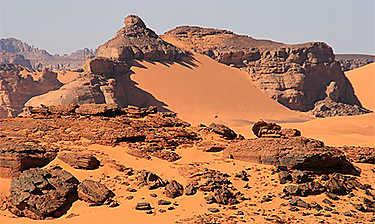 Tadrart Acacus (désert lybien)