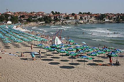 La plage de Sozopol