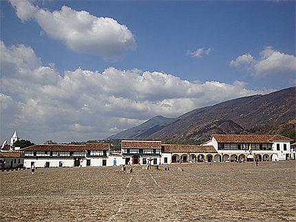 L'immense place de Villa de Leyva