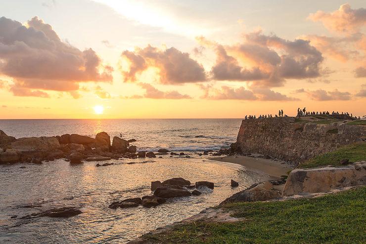 Galle, une forteresse hollandaise au Sri Lanka
