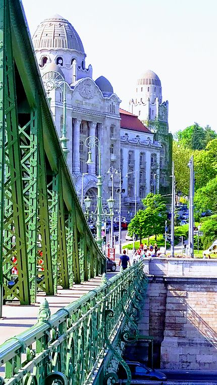 Pont Liberty à Budapest