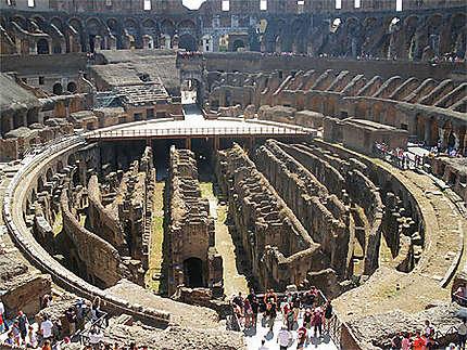 Les sous sols du Colisée