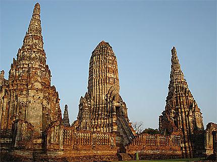 La perfection du Wat Chai Watthanaram
