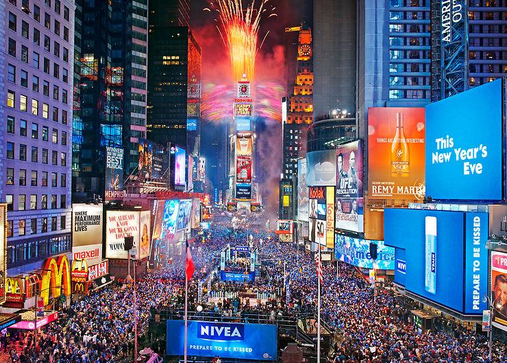 Réveillons du Nouvel An : New York