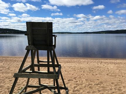 Matinée paisible au Lac Bouchette (Québec)