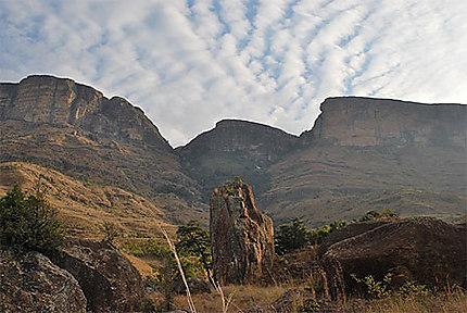 Royal Natal National park, pools and cascades hike