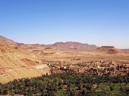Sur la route vers Ouarzazate
