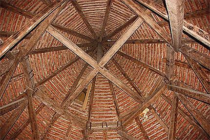 Plafond de la tour du château