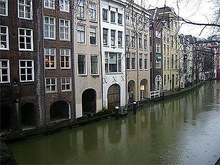 Canaux à Utrecht