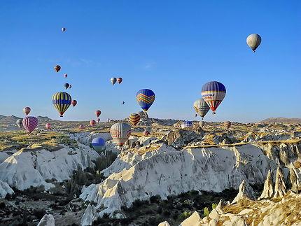 Montgolfières en Cappadoce