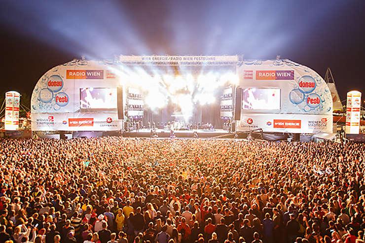 Festival de l'île du Danube (Donauinselfest) à Vienne