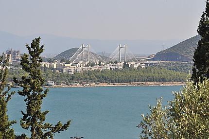 Nouveau pont de Chalkida