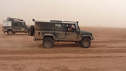 Tempête de sable Chegaga