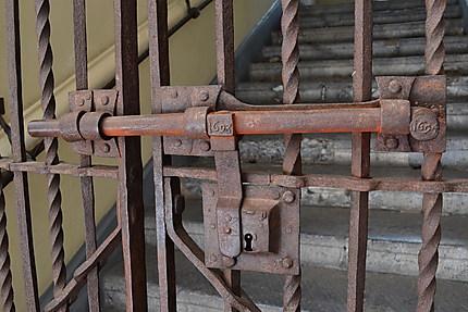 Detail de serrure de l'Hôtel de Ville