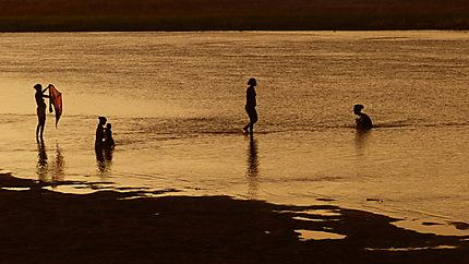 Coucher de soleil à Miandrivazo