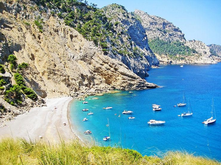 Panoramas et plages désertes de Majorque
